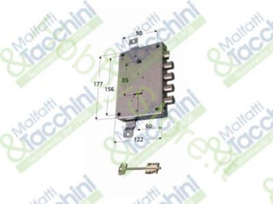 Picture of Serrature P/Porte Blindate Dx Cod. 156149