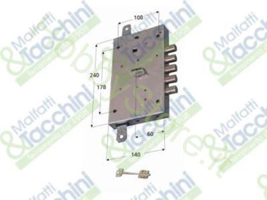 Picture of Serrature P/Porte Blindate Dx Cod. 276521