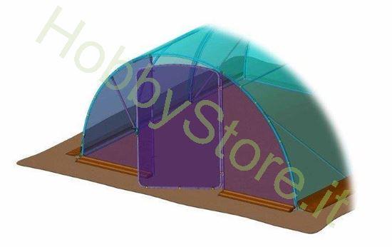 Porta aggiuntiva per serra Stocker