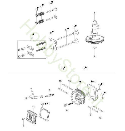 Testa e Valvole G 44 PK Comfort Plus