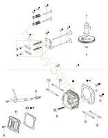 Testa e Valvole G 44 TK Comfort Plus Trazione