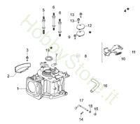 Cilindro e Basamento  G 44 TK Comfort Plus Trazione