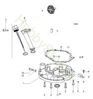 Coperchio Basamento  G 44 TK Comfort Plus Trazione