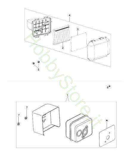 Picture of Filtro aria e marmitta G 48 TK Comfort Plus Trazione