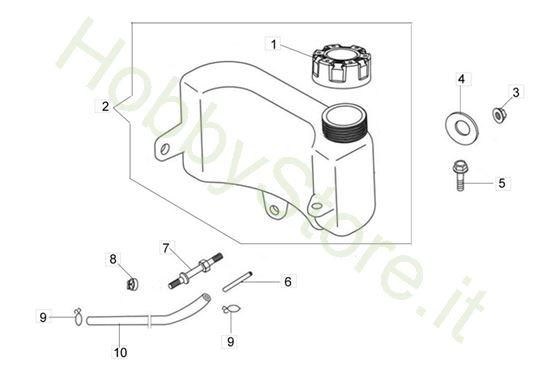 Picture of Serbatoio G 48 TK Comfort Plus Trazione