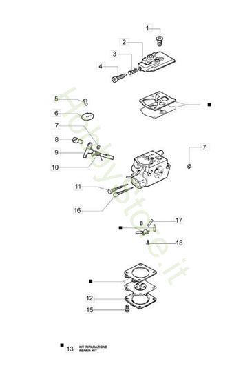 Carburatore WT-904 Soffiatore BV 300