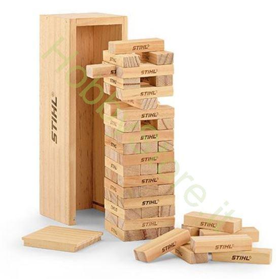 Gioco torre in legno da impilare STIHL