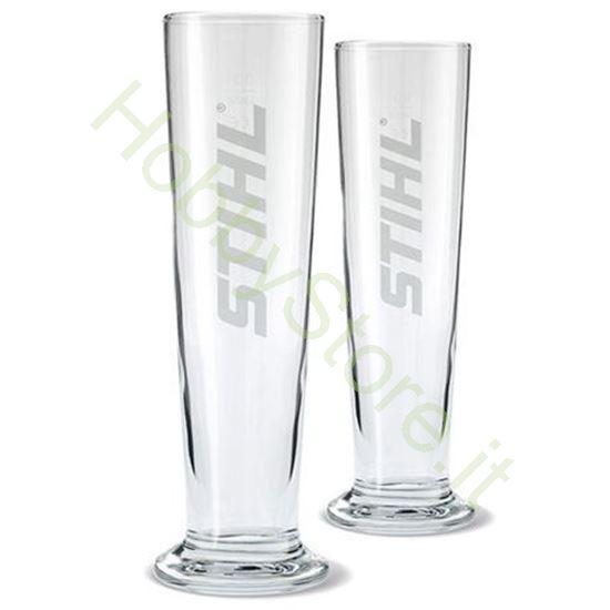 Set 2 bicchieri da birra STIHL