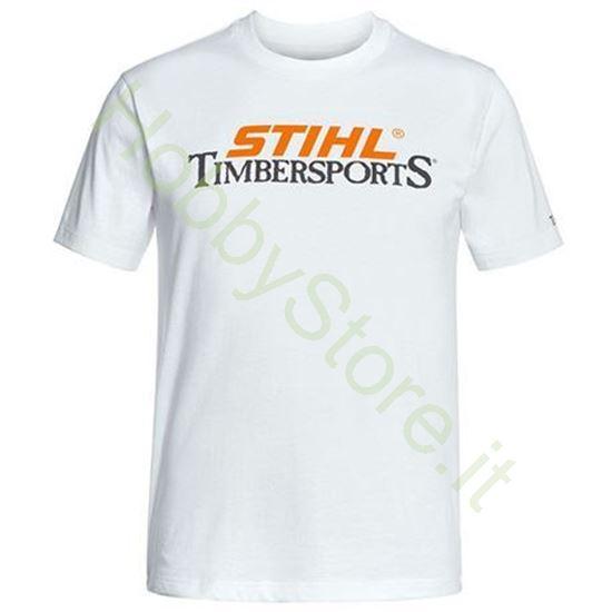 T-Shirt bianca STIHL TIMBERSPORTS