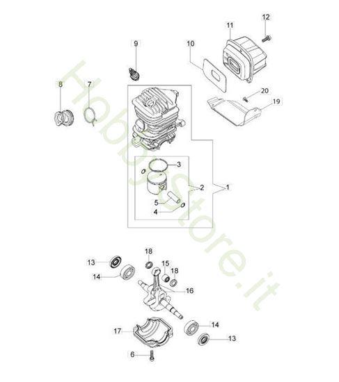 Motore per GS 350