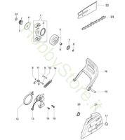 Copricatena e frizione per GS 350 C