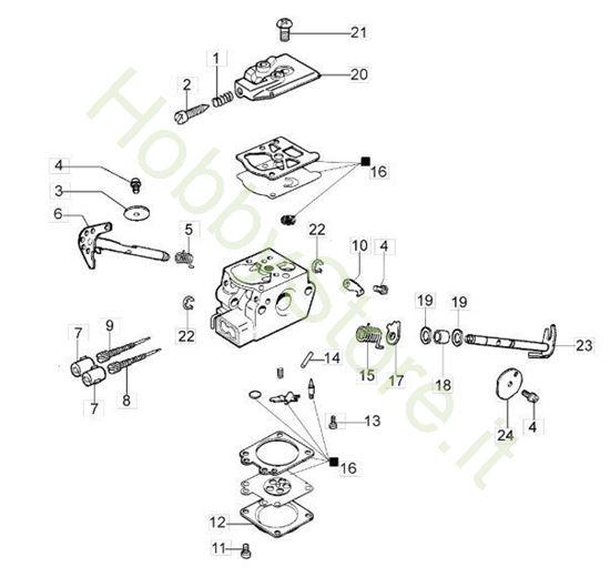 Carburatore WT-780D per GS 370
