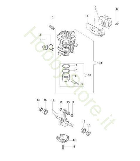 Motore per GS 410 C