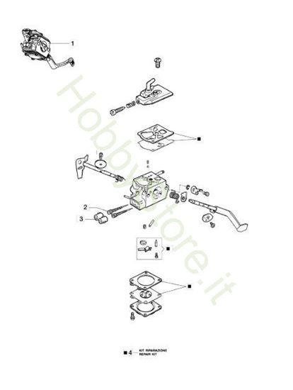 Carburatore per BC 240 S