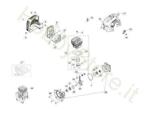 Motore per BC 270 S (Ø 26)
