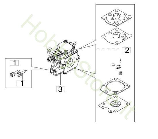 Carburatore WT 1150 per BC 270 S (Ø 26)
