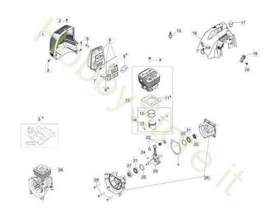 Motore per BC 300 S