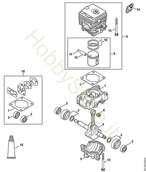 carter albero a gomito cilindro Bg 66 C-E D