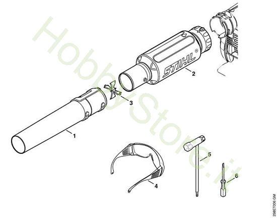Ugello e accessori  Bg 66 C-E D