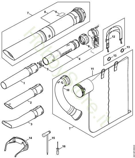 Ugello, dispositivo di aspirazione Bg 86