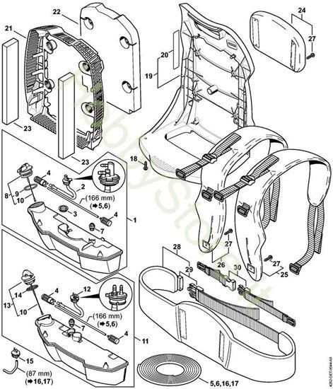 Serbatoio carburante, dorsale BR 500