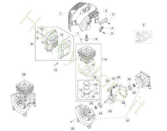 Motore BC 350 S