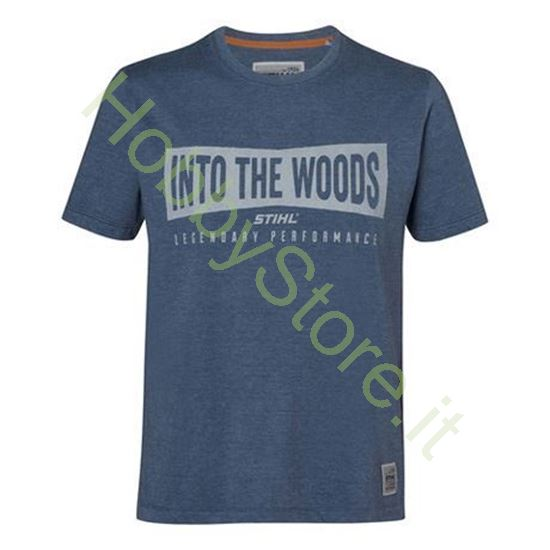 T-Shirt   Uomo INTO THE WOODS Stihl