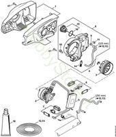 Carcassa motore, elettromotore e pompa olio Sramatore HTA 85