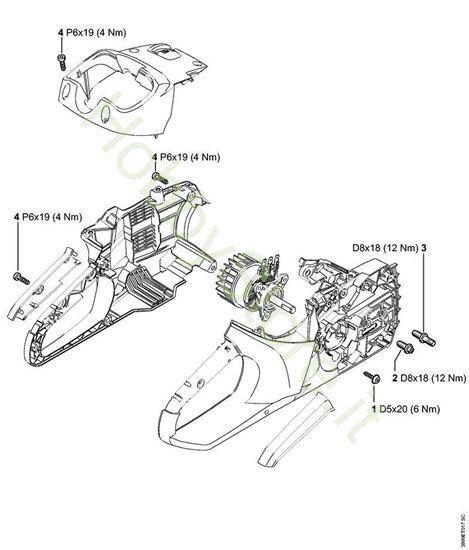 Coppie di serraggio MSA 160 Stihl