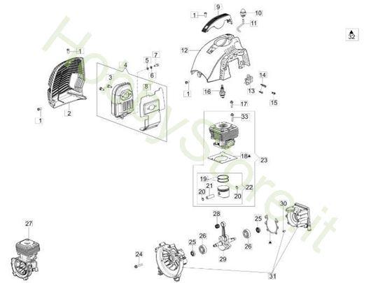 Motore per BC 430 S