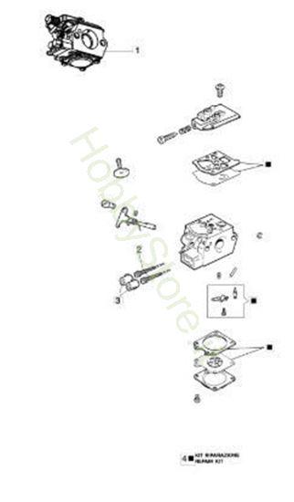 Carburatore WT 1053 per BC 430 S