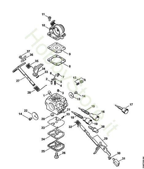 Carburatore C1Q-S238,S217  Ms 171 Stihl