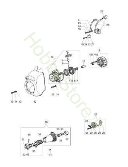 Avviamento e frizione per Sparta 250 S