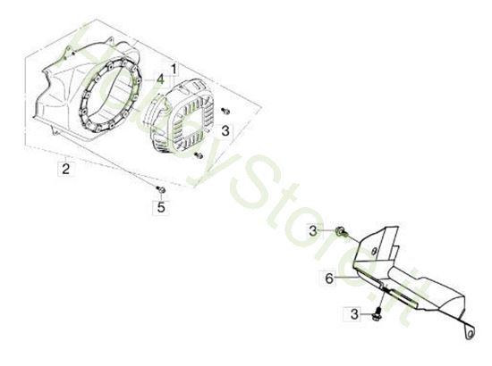 Avviamento per motozappa MH 175 RK (K800 HT)
