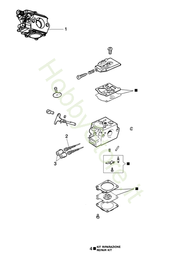 Carburatore WT 1053 per BCF 430