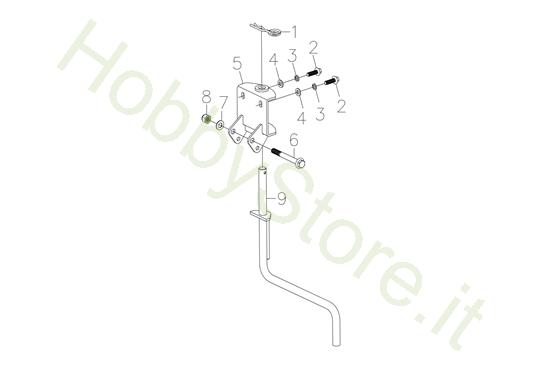 Sperone per MH 198 RK (K800 HC)