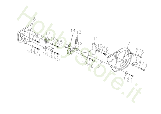 Ingranaggi 2/2 per MH 198 RK (K800 HC)