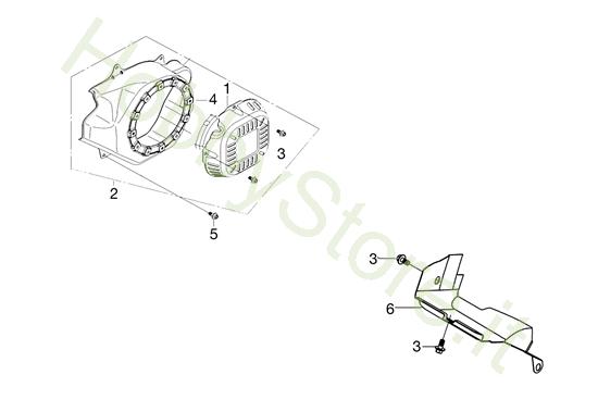 Avviamento per MH 198 RK (K800 HC)