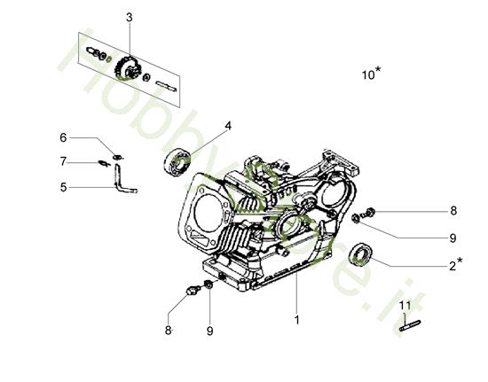 Basamento per MH 198 RK (K800 HC)