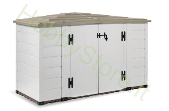 Box da Giardino in Resina Garofalo Box Evo 200