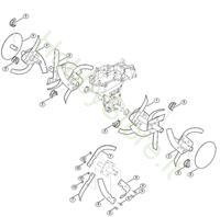 Set zappatura per Motozappa HB 685.1 Viking