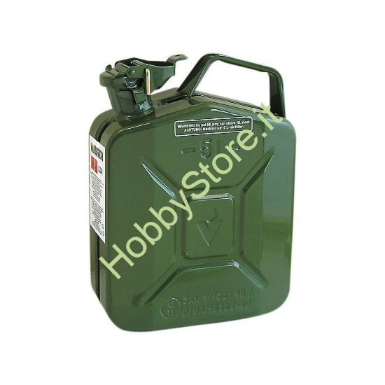 tanica 5 litri in metallo