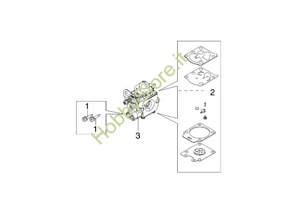 Carburatore WT 1199  per BCF 530