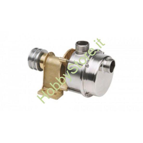 Pompa a puleggia in acciaio Inox  AL 25 Tellarini