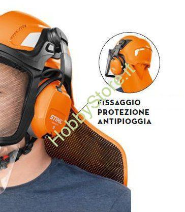 Fissaggio interno protezione Antipioggia Stihl
