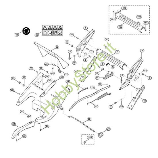 Telaio, regolazione altezza MB 750 GK Viking