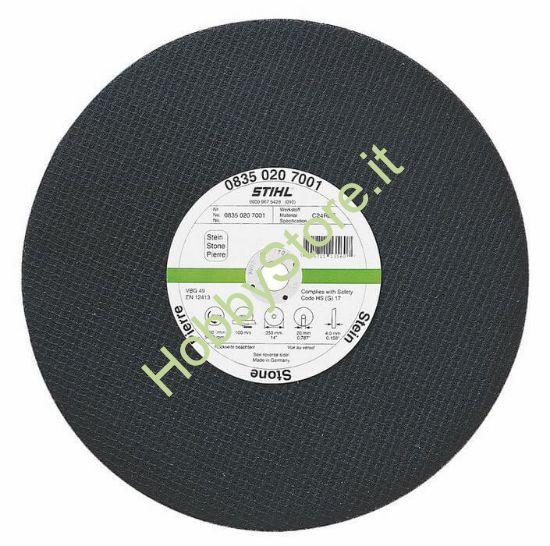 Disco Stihl resinoide per pietra K-BA