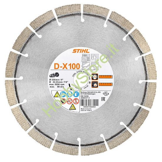 Disco Stihl diamantato D-BA80