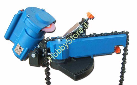 Affilatore catene elettrico con avanzamento automatico