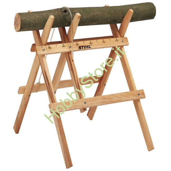 Cavalletto in legno Stihl
